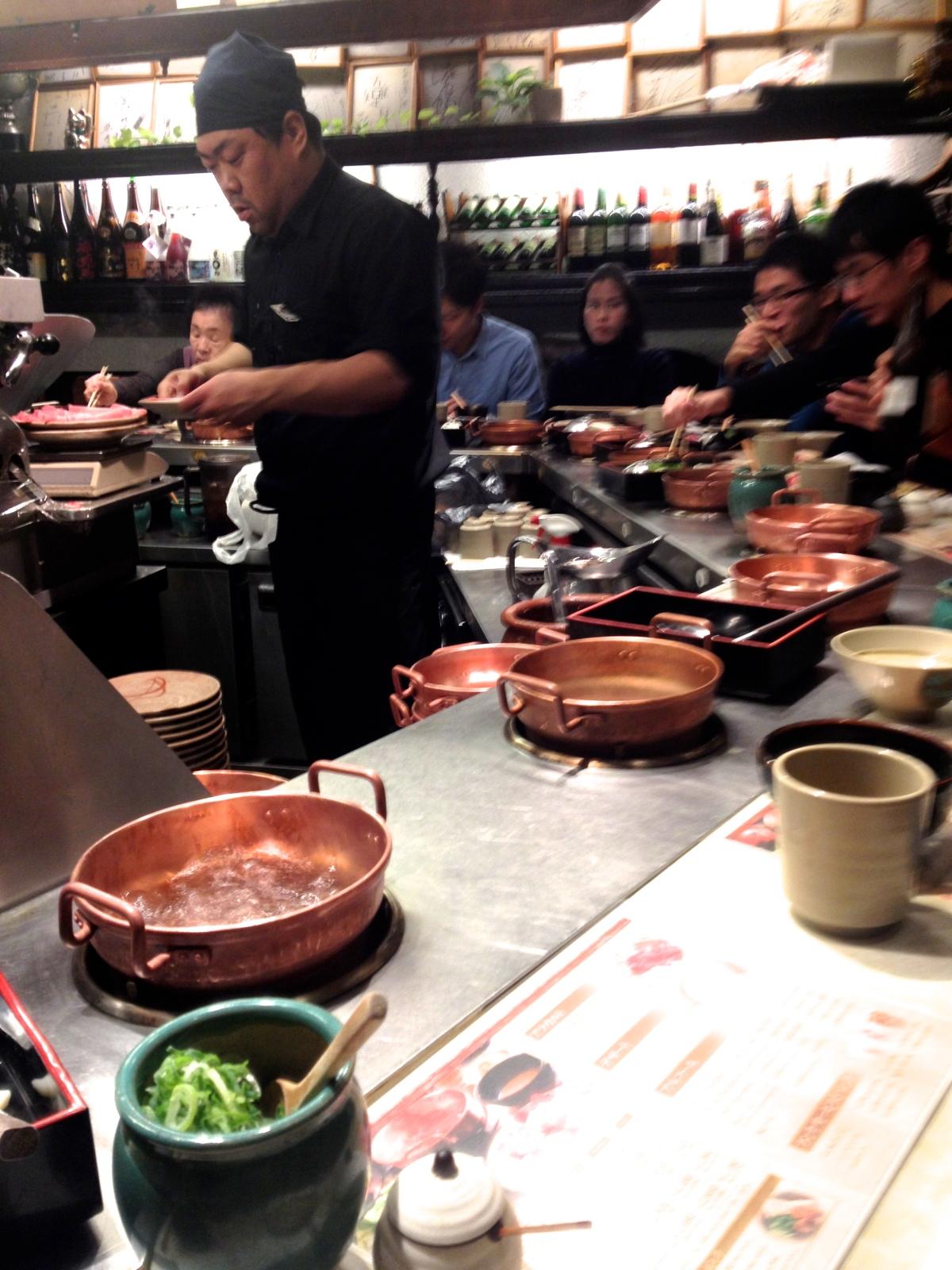 Dining in Osaka