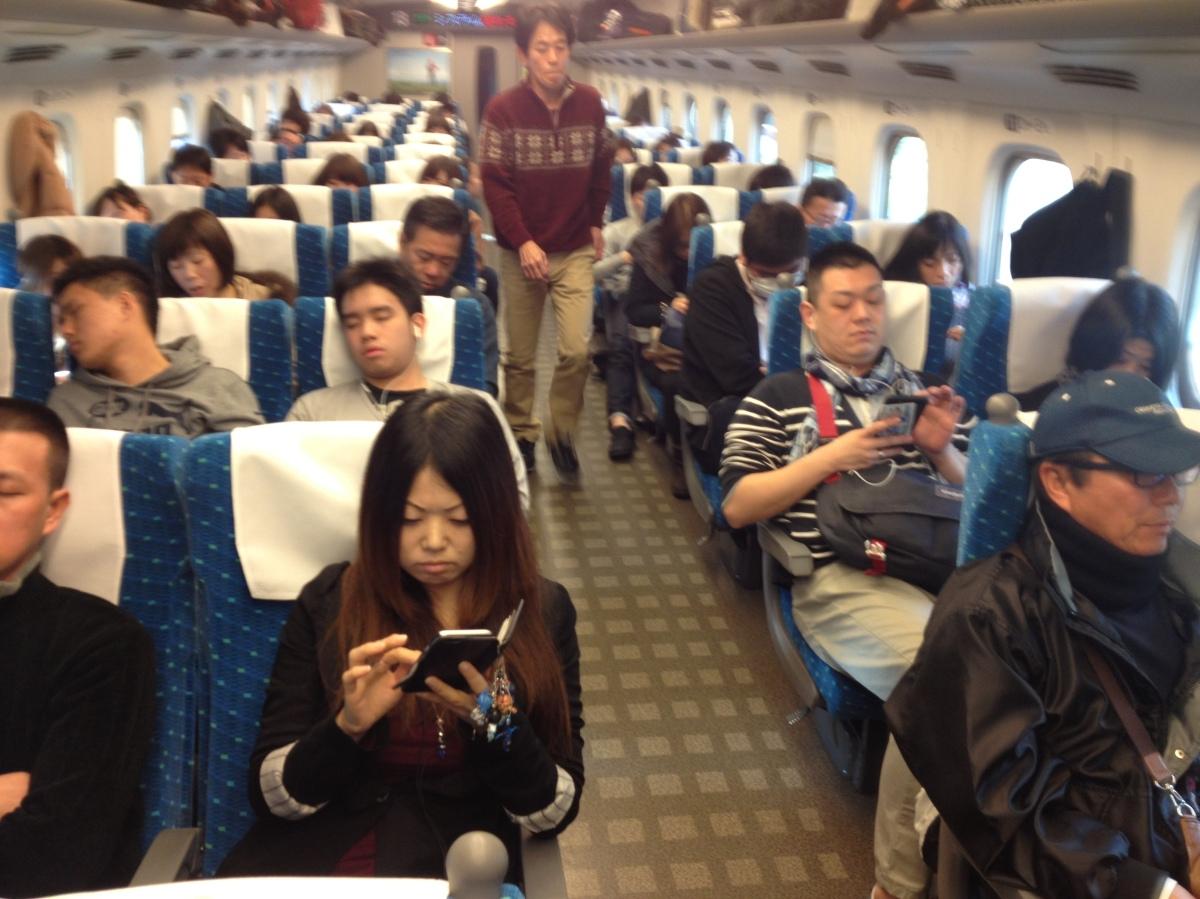Shinkansen: Osaka toTokyo